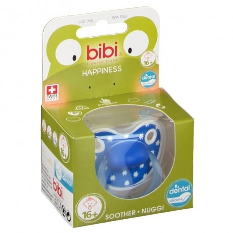Bibi Sucette Happiness Lovely Dots +16m pas cher, discount