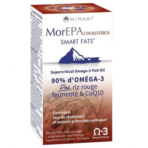 Minami Morepa Smart Fats Cholest. Pot Softgel 30 pas cher, discount