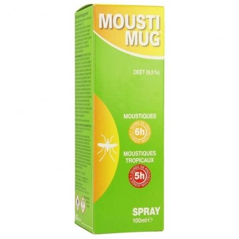 Moustimug 9,5% Deet Spray 100ml pas cher, discount