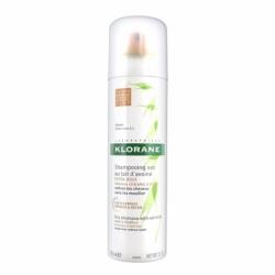 Klorane Shampooing Sec Extra Doux Spray Teinté Cheveux Châtains à Bruns 150ml