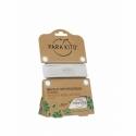 Para'Kito Bracelet Anti-Moustique Blanc Répulsif Naturel 2x15 Jours de Protection Rechargeable
