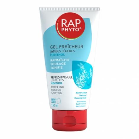 Rap Phyto Gel Fraîcheur Jambes Légères Menthol 150ml pas cher, discount