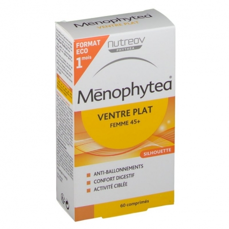 Menophytea Ventre Plat Femme +45 ans 60 Comprimés Format Economique 1 Mois pas cher, discount