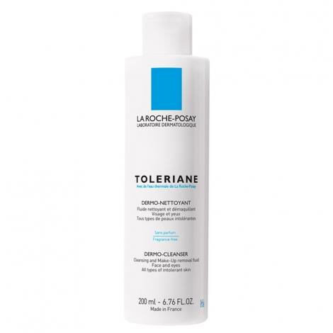 La Roche-Posay Toleriane Fluide Dermo-Nettoyant  200ml pas cher, discount