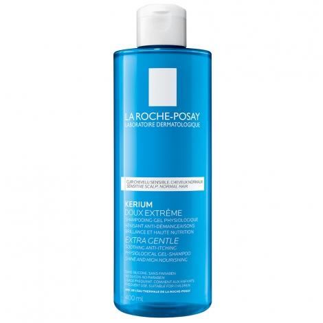 La Roche-Posay Kerium Shampooing Gel Physiologique Doux Extrême 400ml pas cher, discount