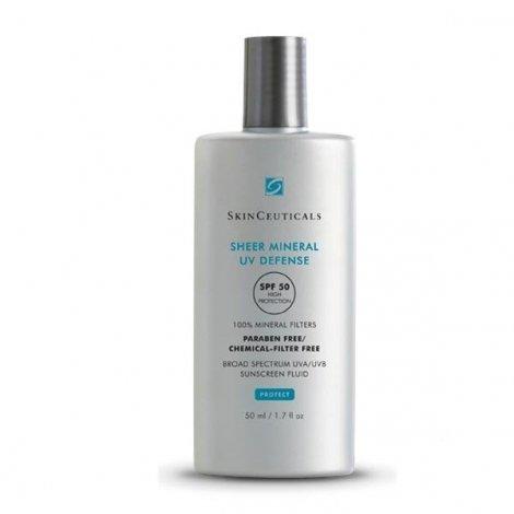 SkinCeuticals Sheer Mineral UV Defense SPF 50 Fluide Ecran Solaire à Filtre 100% Minéral 50 ml pas cher, discount