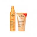 Nuxe Sun Spray Fondant SPF50 150ml + Lait Fraîcheur Après-Soleil 100ml OFFERT