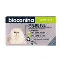 Biocanina Milbetel Vermifuge Chat + de 2kg 2 comprimés