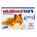 MilbemaxTab Vermifuge Spectre Large Chien de plus de 5 kg 2 comprimés