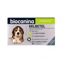 Biocanina Milbetel Vermifuge Petit Chien et Chiot de 0,5 à 10kg 2 comprimés