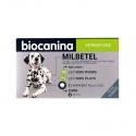 Biocanina Milbetel Vermifuge Chien + de 5kg 2 comprimés