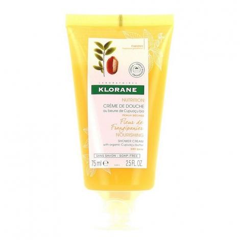 Klorane Fleur de Frangipanier Crème de Douche 75ml pas cher, discount