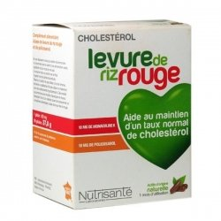Nutrisante Levure de Riz Rouge 90 gélules pas cher, discount
