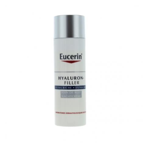 Eucerin Hyaluron-Filler Extra Riche Soin De Nuit 50ml pas cher, discount