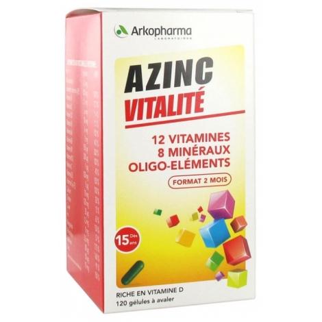 Arkopharma Azinc Vitalité 120 gélules pas cher, discount