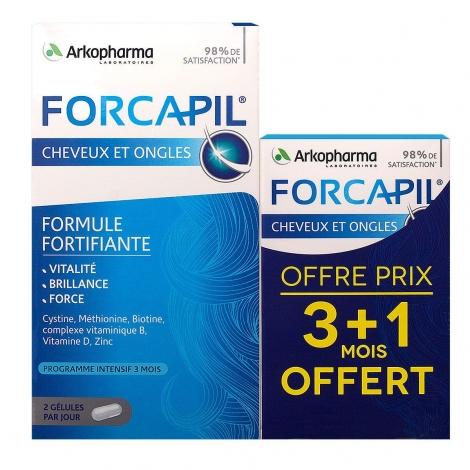 Arkopharma Forcapil Cheveux & Ongles 180 + 60 gélules pas cher, discount