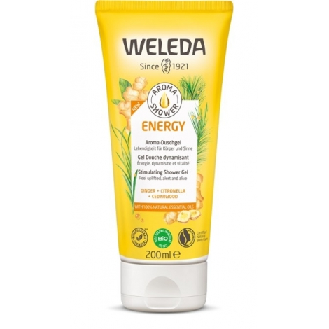 Weleda Aroma Shower Energy Gel Douche dynamisant 200ml pas cher, discount