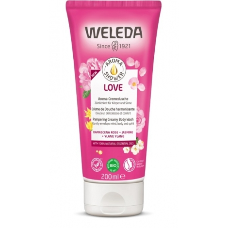 Weleda Aroma Shower Love Crème de Douche Harmonisante 200ml pas cher, discount