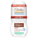 Rogé Cavailles Duo Déodorant Dermato Anti-Odeurs Roll-on 2x50ml
