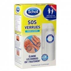 Scholl SOS Verrues Elimine les verrues en 1 traitement  pas cher, discount