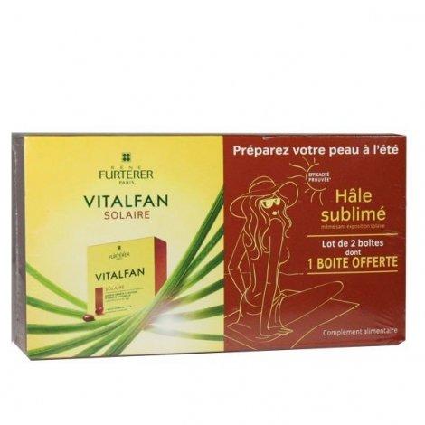 Furterer Vitalfan Solaire Hâle sublimé 2 x 30 Capsules pas cher, discount