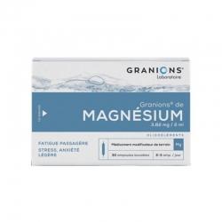 Granions de Magnésium 30 Ampoules buvables