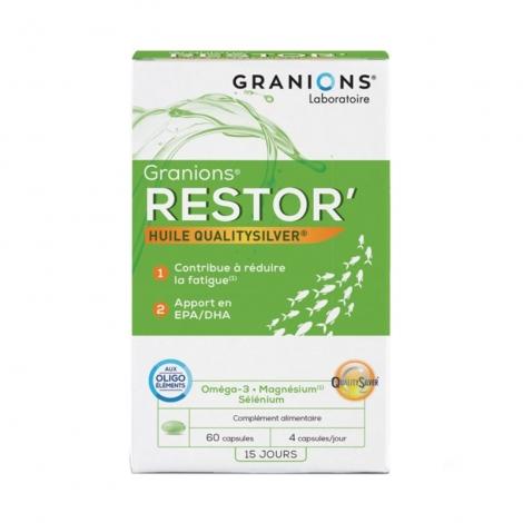 Granions Restor 60 capsules pas cher, discount