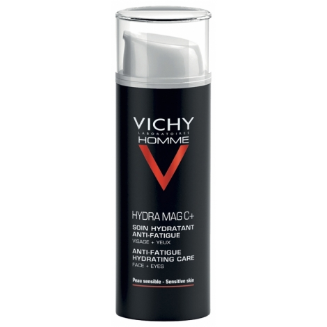Vichy Homme Hydra Mag C+ Soin Hydratant Anti-Fatigue Visage & Yeux 50ml pas cher, discount