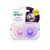 Avent Sucettes Soothie Ours Rose Silicone 0-3 mois 2 pièces