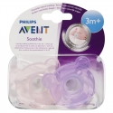 Avent Sucettes Soothie Ours Rose Silicone 3 mois+ 2 pièces