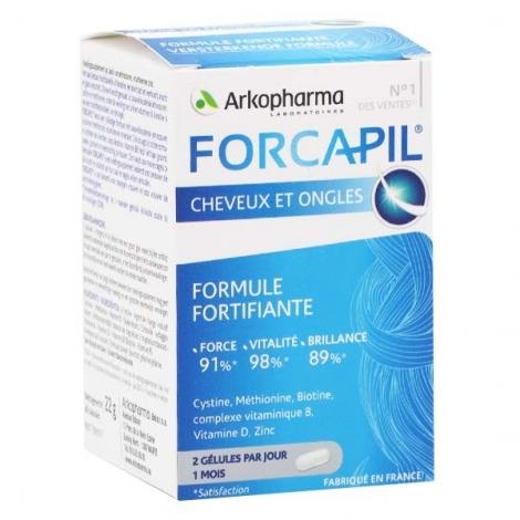 Arkopharma Forcapil Cheveux Et Ongles 60 Gélules pas cher, discount