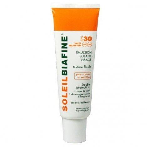 Soleil Biafine Emulsion Solaire Visage SPF 30 50 Ml pas cher, discount