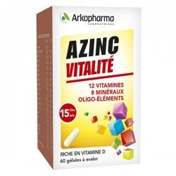 Arkopharma Azinc Optimal Forme & Vitalité x60 Gélules
