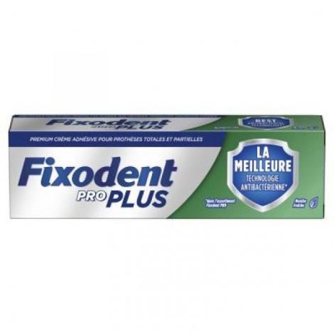 Fixodent Pro Duo Protection Anti-Bactérien + Anti-Particules 40 g pas cher, discount