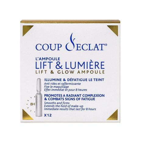 Coup d'Éclat Ampoule Lift & Lumière x12 pas cher, discount