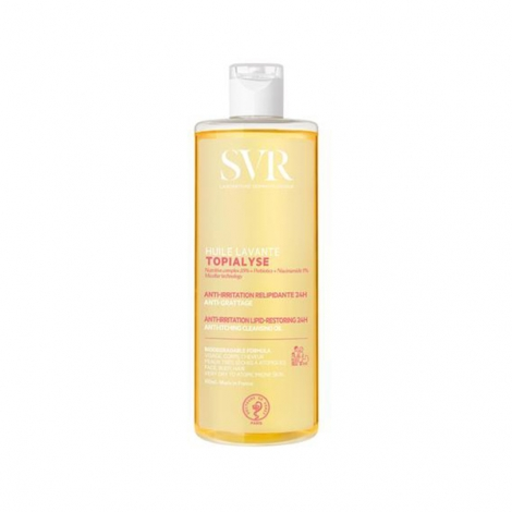 SVR Topialyse Huile Lavante Anti-Irritation Relipidante 24h 400ml pas cher, discount