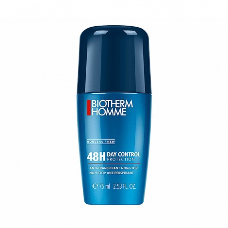Biotherm Homme 48H Day Control Anti-Transpirant Roll-On 75ml pas cher, discount