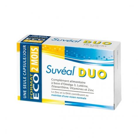 Suvéal Duo Rétine 60 capsules pas cher, discount