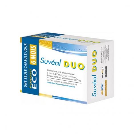 Suvéal Duo 180 capsules pas cher, discount