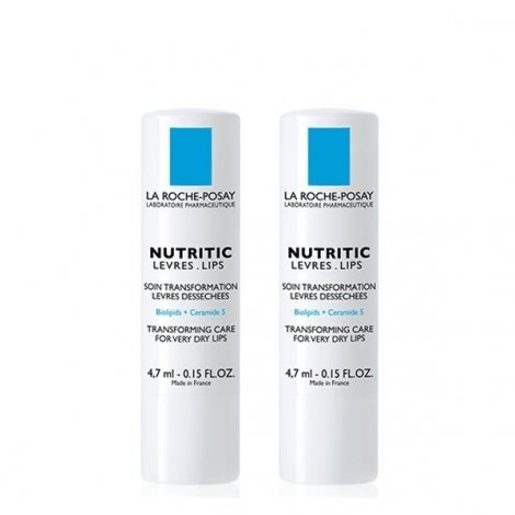 La Roche-Posay Nutritic Stick Lèvres 2 x 4,7ml pas cher, discount