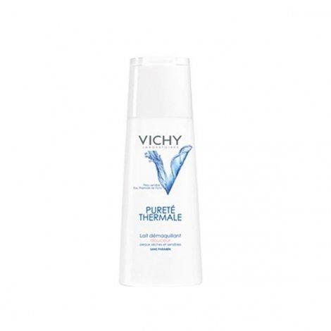 Vichy Pureté Thermale Lait Démaquillant Douceur Peaux Sèches et Sensibles 200 ml pas cher, discount