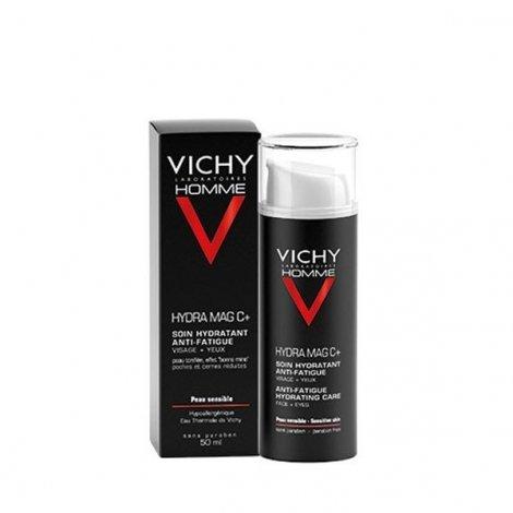 Vichy Homme Hydra Mag C+ Soin Hydratant Anti-Fatigue Visage et Yeux 50 ml pas cher, discount