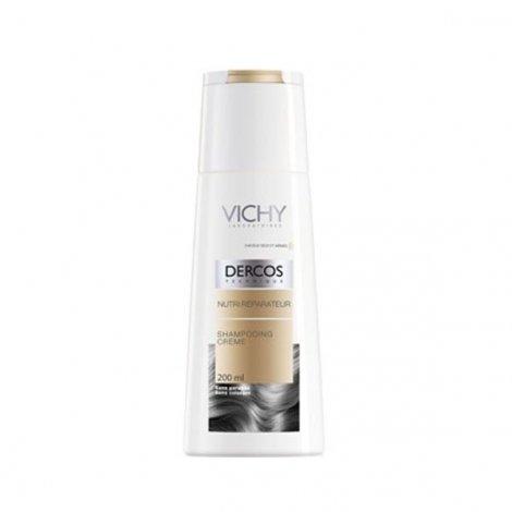 Vichy Dercos Shampooing Crème Nutri Réparateur Cheveux Secs et Abîmés 200 Ml pas cher, discount