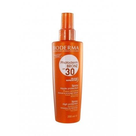 Bioderma Photoderm Bronz SPF 30 Spray Solaire Peaux Sensibles 200ml pas cher, discount