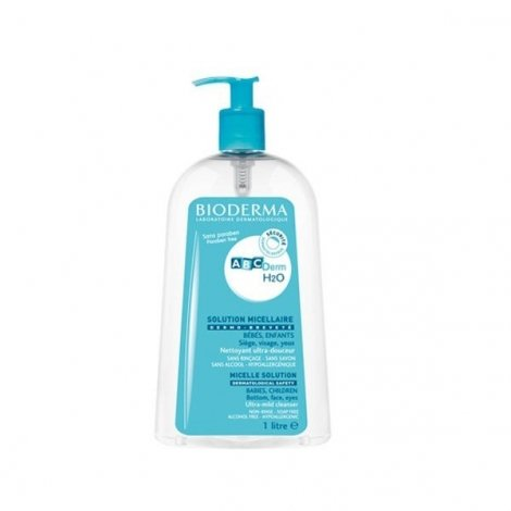 Bioderma ABCDerm H2O Solution Micellaire 1 Litre pas cher, discount