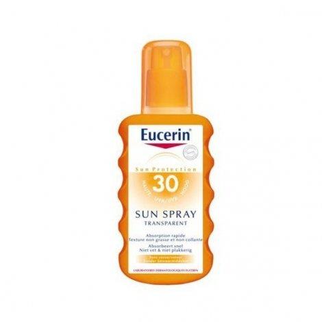 Eucerin Sun Spray Transparent SPF 30 200ml pas cher, discount