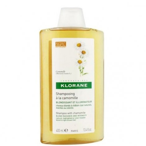 Klorane Capillaire Shampooing Camomille 400 ml pas cher, discount