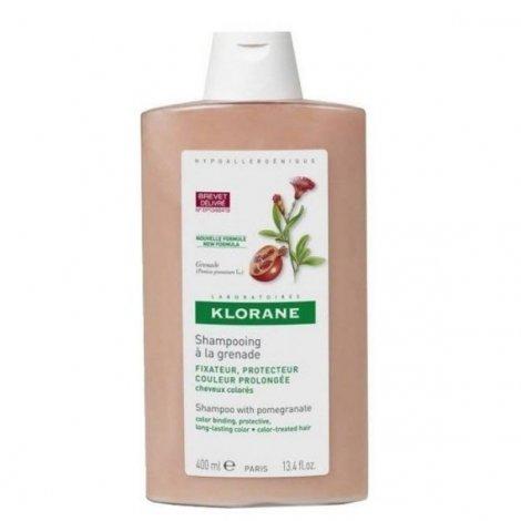 Klorane Capillaire Shampooing Traitant Sublimateur Grenade 400 ml pas cher, discount