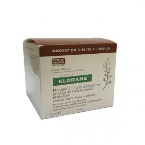 Klorane Cheveux Crépus Masque à l'Huile d'Abyssinie 150ml pas cher, discount