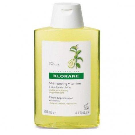 Klorane Shampooing Vitamine Cédrat 200 ml pas cher, discount